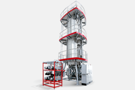 viscoSTAR - rPET solid state polycondensation plant